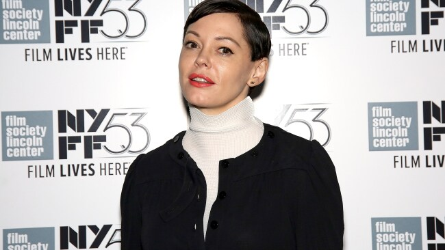 Actress Rose McGowan reportedly received a payout from Weinstein. Photo: Paul Zimmerman/Getty Images