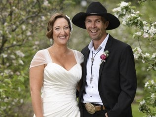 "MAFS - Sean and Susan on their 'Wedding"" day. Picture: Channel 9"
