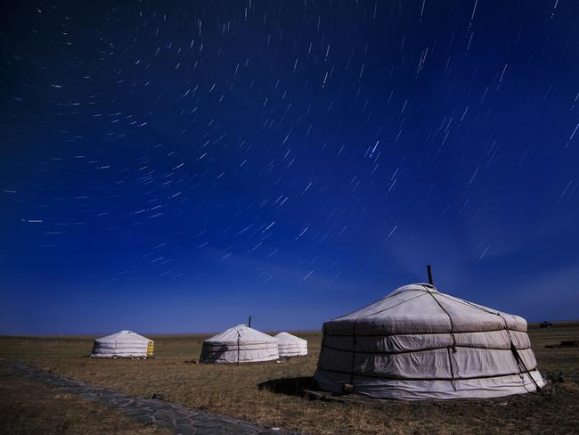 Mongolia famous for its for its yurts - known locally as ger.