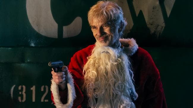 Ho, ho, ho, no. Billy Bob Thornton in a scene from Bad Santa 2
