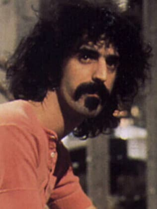 Singer Frank Zappa had a great sense of humour.