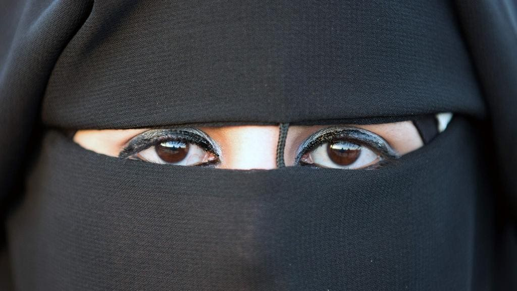Morocco has reportedly banned the selling of the burqa full-face Muslim veils. Picture: Menahem Kahana.