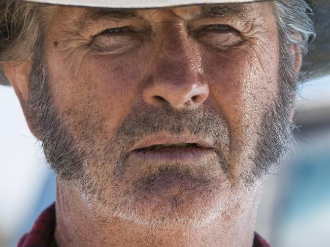 Wolf Creek 2 - John Jarratt and Ryan Corr, scene Picture: Supplied