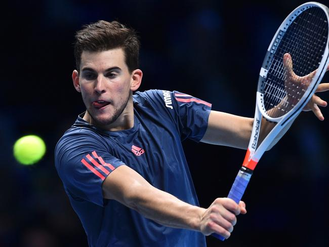 Austria's Dominic Thiem is the highest-ranked man in the men's field.