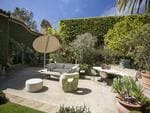 Pictured: Interior courtyard. Ellen Degeneres lists Santa Barbara house for sale. Picture: Jim Bartsch