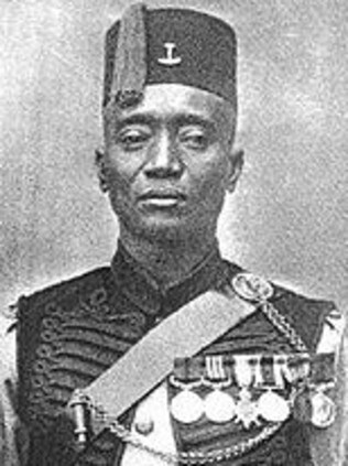 Brave ... Alhaji Grunshi fought through the war in Africa and was later promoted. Source: Wikipedia.