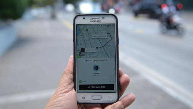 You could soon be taking an Uber subsidised by the government. Picture: Ted Aljibe