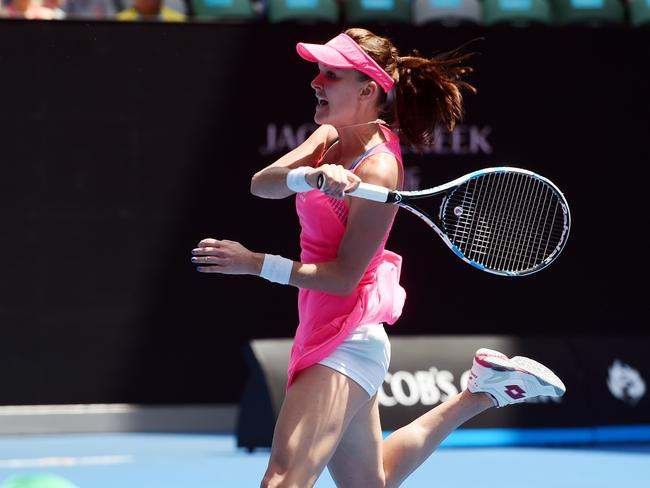 Radwanska made light work of Carla Suarez Navarro.