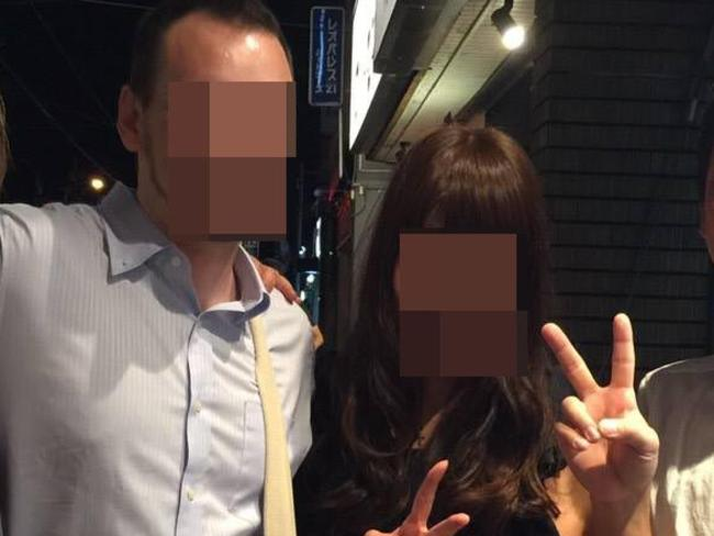 The husband and wife (above) who uncovered Masaaki Imaeda's elaborate sex spying network after finding a hidden camera in the ceiling of their bedroom.