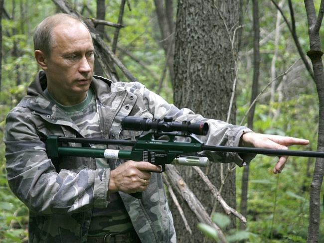 Russian president Vladimir Putin has all kinds of shiny toys to play with when he's not too busy taming tigers.
