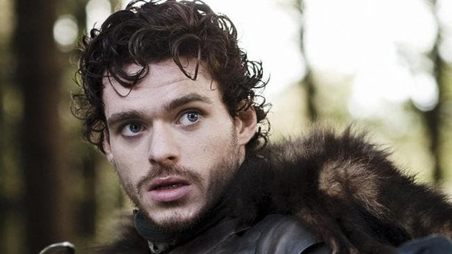 """Robb Stark. As Maisie Williams would say, """"he dead""""."""