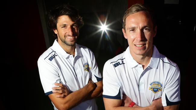 The Roar's Thomas Broich and Matt Smith will take on the might of Juventus.