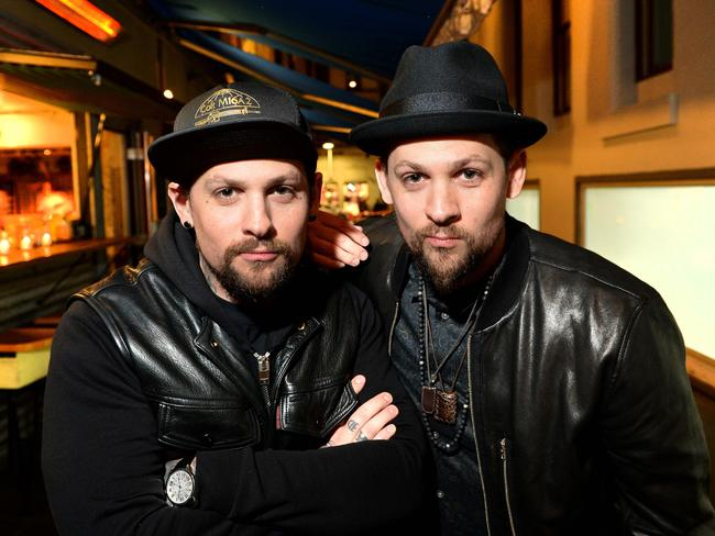 Benji and Joel Madden. Picture: Mike Keating