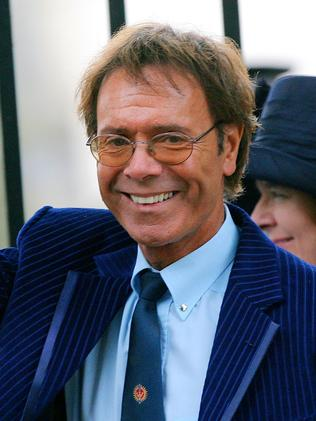 ... and THIS is Cliff Richard. Picture: Carl De Souza