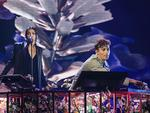 Flume performs on stage during the 30th Annual ARIA Awards 2016 at The Star on November 23, 2016 in Sydney, Australia. Picture: Dylan Robinson