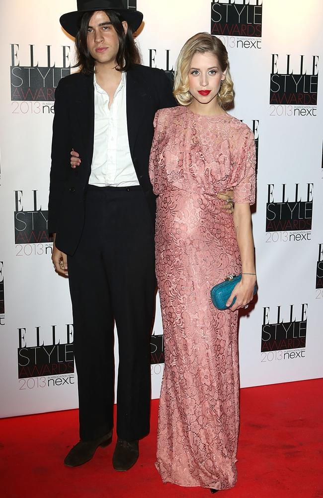 Peaches Geldof with husband Thomas Cohen at the Elle Style Awards in 2013.