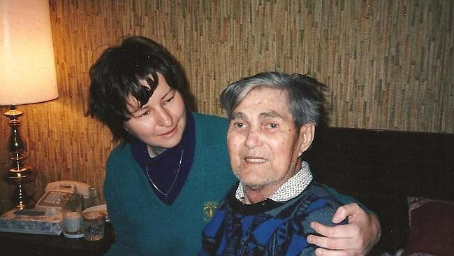 The couple just before his death in 1994.
