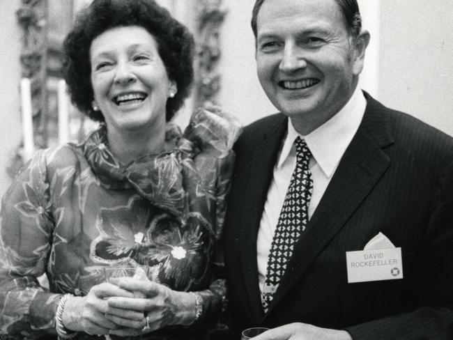 Mr Rockefeller and wife Peggy amassed an incredible collection of art, which is being sold benefit cultural, educational, medical and environmental charities. Picture: Christie's Images Ltd. 2018 via AP