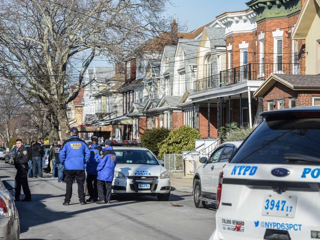 Police search the home of suspected terrorist Akayed Ullah in Brooklyn. Picture: Stephanie Keith/Getty Images/AFP