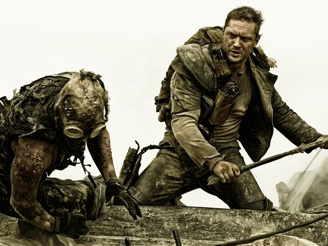 Explosive ... Tom Hardy plays the role that made Mel Gibson famous. Picture: Supplied