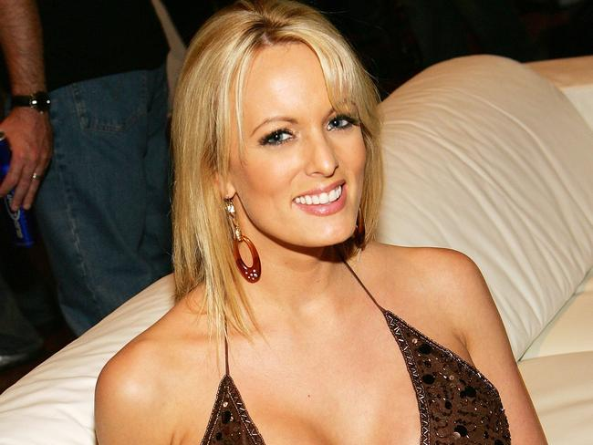Adult film actor Stormy Daniels. Picture: Getty