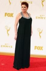 Kate Mulgrew attends the 67th Annual Primetime Emmy Awards in Los Angeles. Picture: Getty