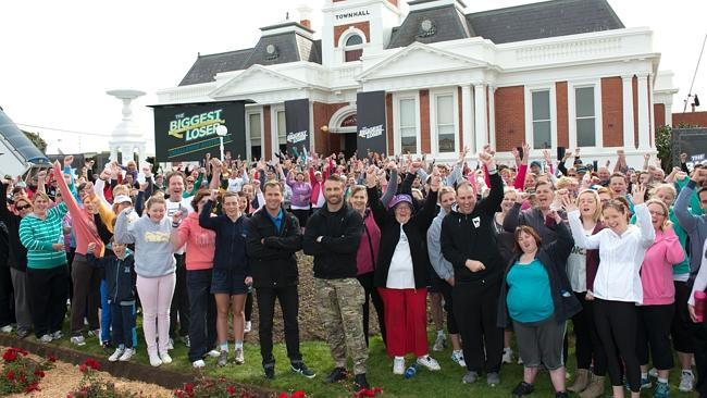 The Biggest Loser is bigger than ever, transforming an entire town's weight loss goals.