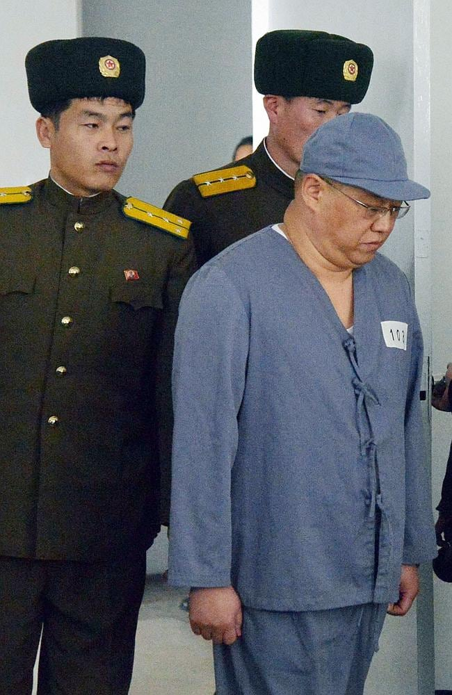 Detainee stuck in North Korea pleads for help