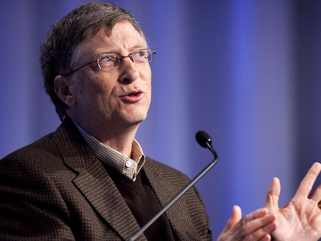 Look to Bill Gates as a public speaking example.