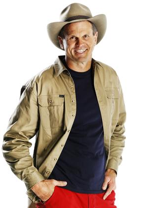 Paul is doing the show for the challenge. Picture: Channel Ten.