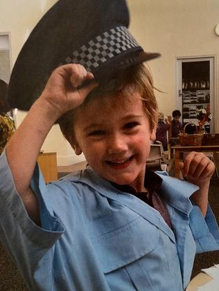 Luca Janzow was fatally stabbed by his mentally ill father.