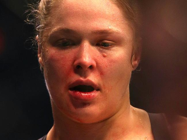 Rousey's first big step in comeback