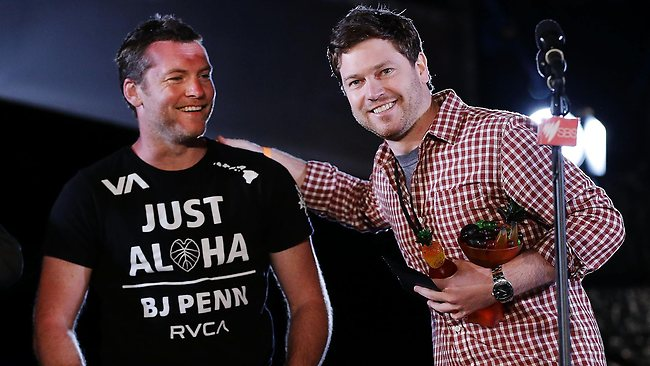 Tropfest winner Nicholas Clifford and Sam Worthington