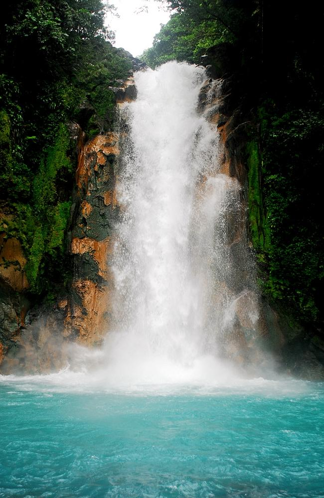 The bluest waterfall we've ever seen. Picture: Nickodemo.