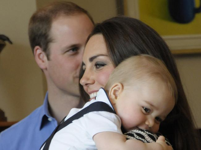 Large inheritance: Lucky for Prince George, he won't have to rely on a low pension. Photo: Government House NZ via Getty Images