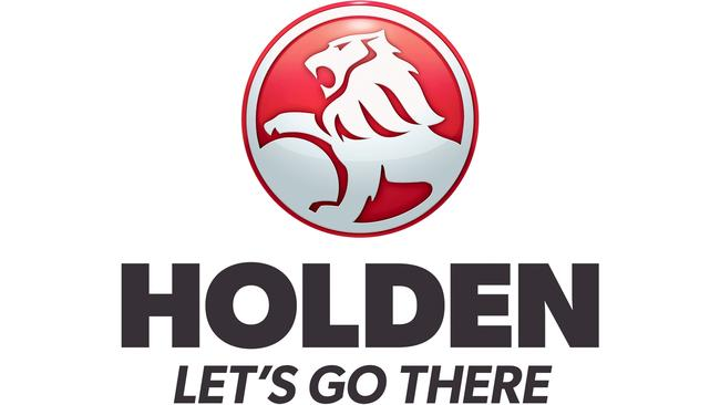 The old Holden logo used capital letters.