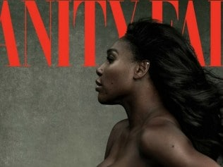 Serena Williams on the cover of Vanity Fair. Photo: Annie Liebovitz for Vanity Fair
