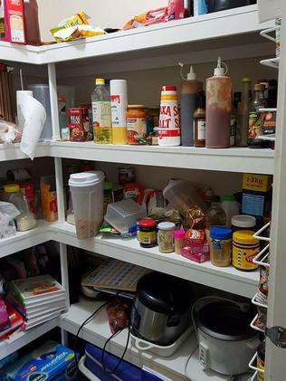 Belinda has also been inspired to organise her pantry. Picture: Belinda Hampson