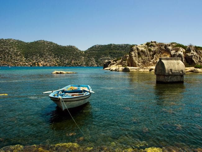 Holiday-makers have been able to boat or kayak around the area but underwater exploration has been banned to protect the site.
