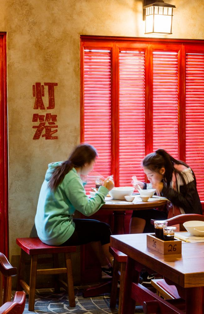 Diners at New Shanghai. Picture: Supplied