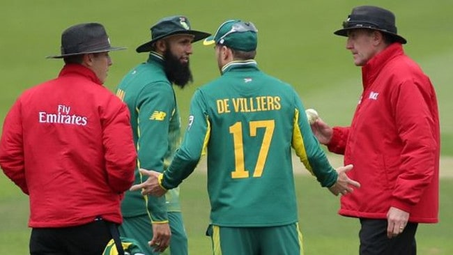 Proteas raging over 'ball-tampering' inference