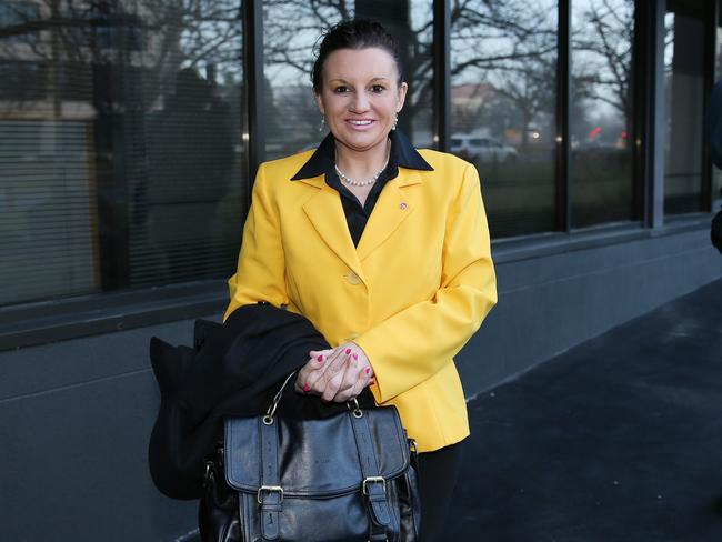 Ready for action ... PUP Senator Jacqui Lambie was one of ten new Senators sworn in today. Picture: Gary Ramage.