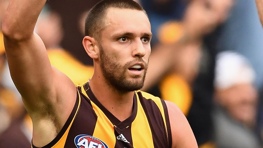 Jack Gunston admits the Hawks must lower expectation and focus solely on defeating West Coast
