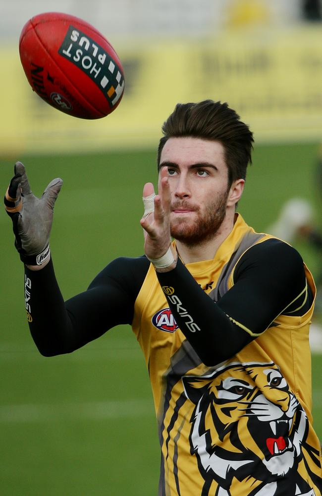 Richmond forward Liam McBean is making a strong case to play senior footy. Picture: Picture: Colleen Petch.