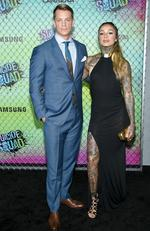 Joel Kinnaman and Cleo Wattenstrom attend the Suicide Squad world premiere on August 1, 2016 in New York City. Picture: AP