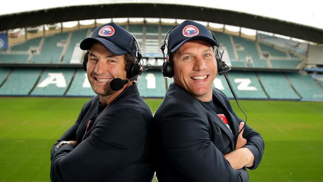 Hindmarsh and Fletcher: the next great commentating duo?