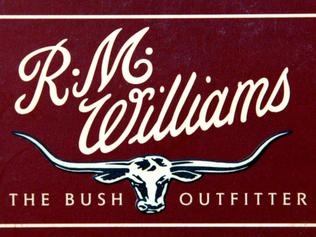 "NOVEMBER 4, 2003 : RM Williams ""The Bush Outfitter"" logo 04/11/03. Pic Jeff Darmanin."