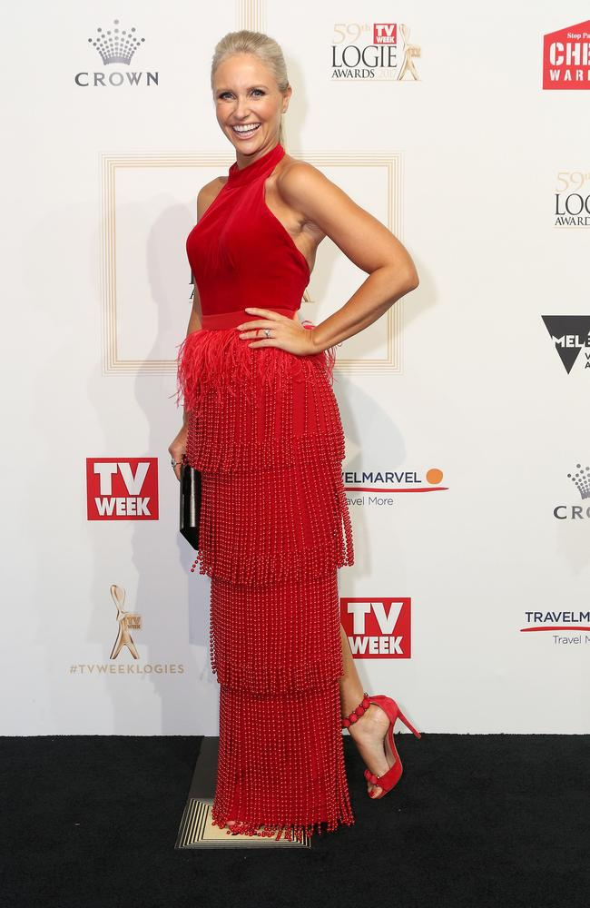 Livinia Nixon at the Logie Awards. Picture: Julie Kiriacoudis