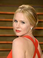 Actress Kristen Bell attends the 2014 Vanity Fair Oscar Party. Picture: Getty