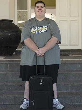 Big Kev entering the house in 2014.